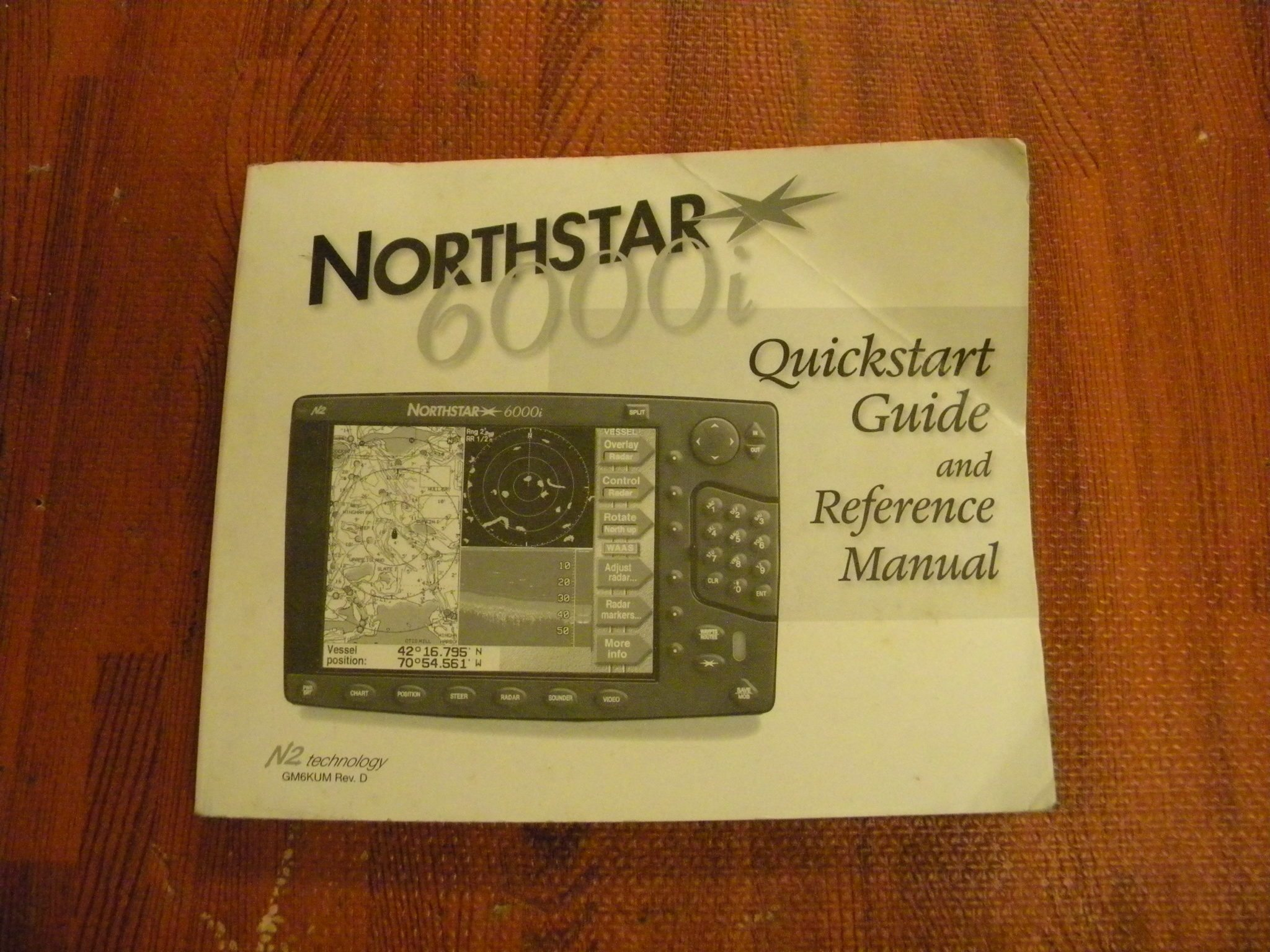 Northstar 6000i owners manual.