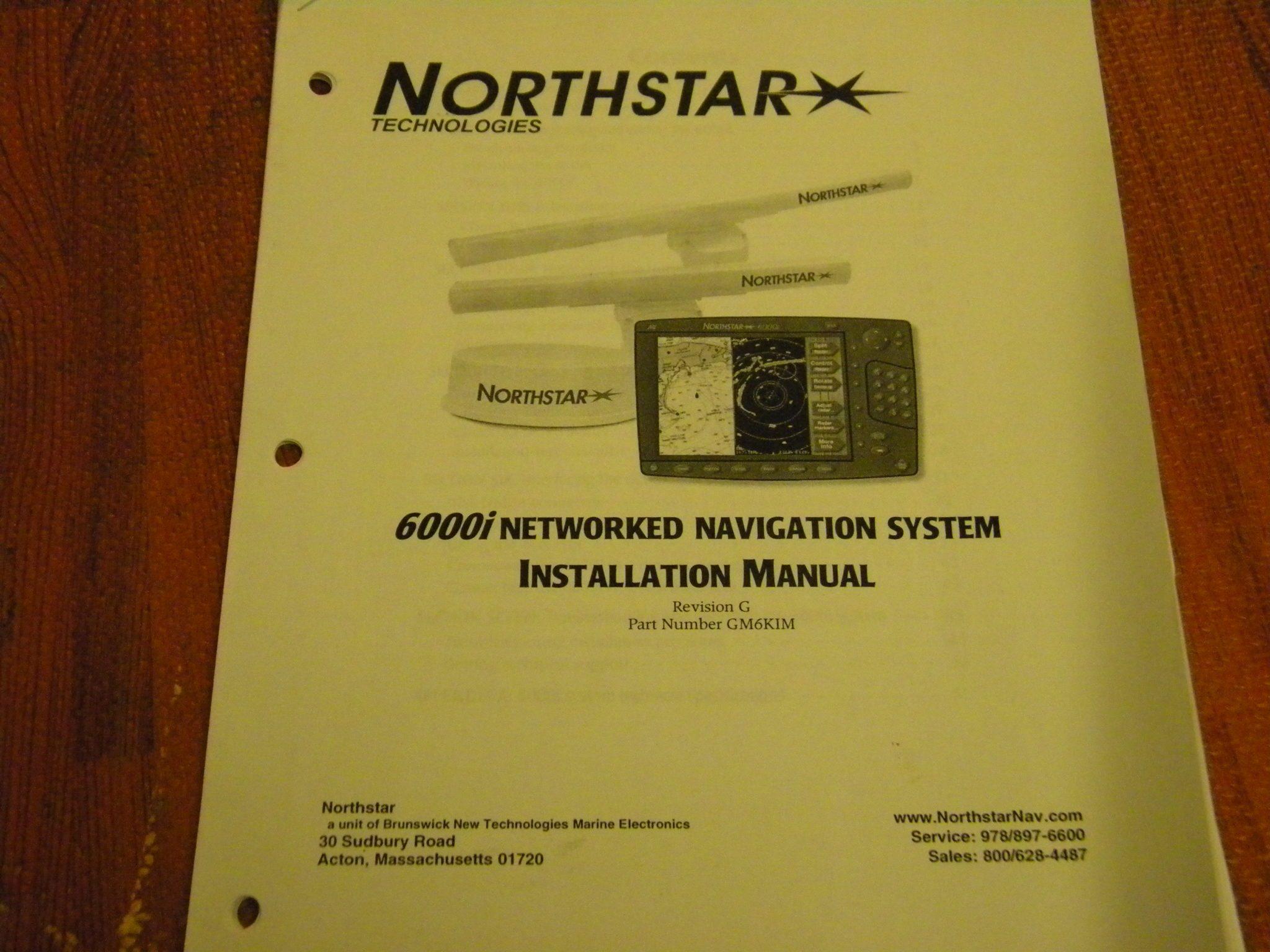 northstar 6000i networked navigation system installation manual rev rh maxmarineelectronics com North Star 6100I Manual Northstar 6000I Dimensions