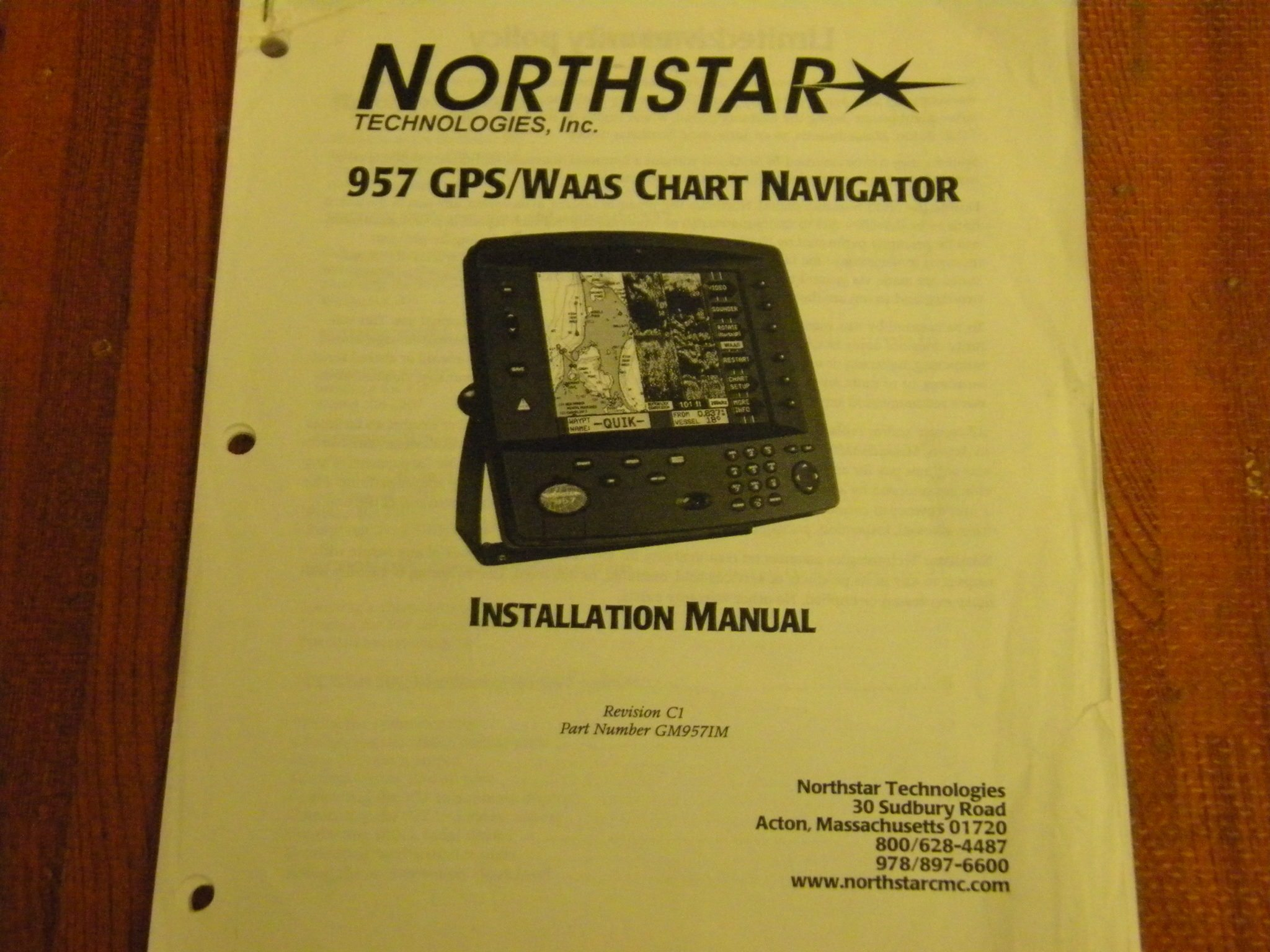 northstar 957 gps waas chart navigator installation manual rev c1 pn rh maxmarineelectronics com northstar 6000i gps manual northstar m3 gps manual