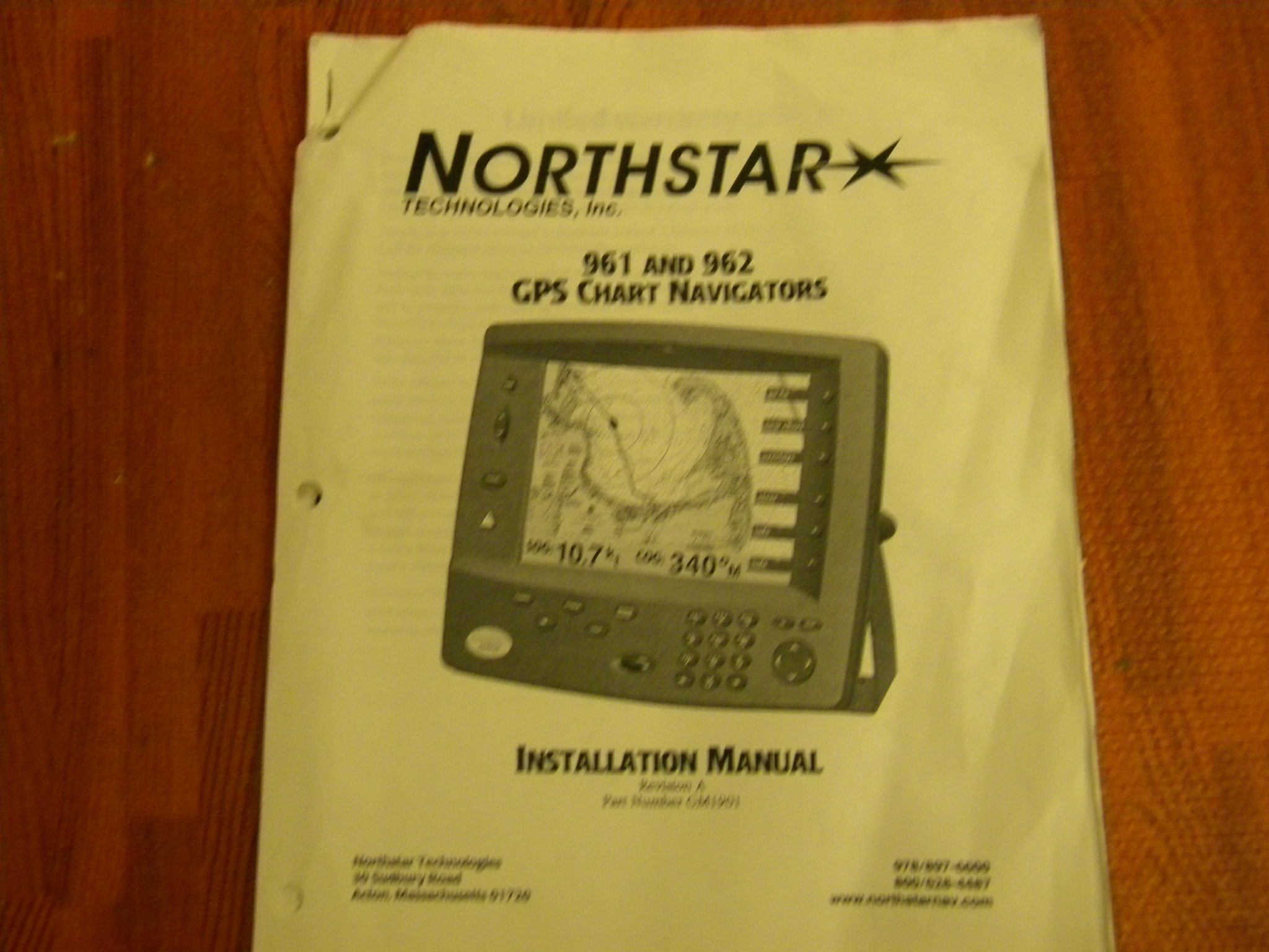 northstar 961 962 gps chart navigators installations manual rev a rh maxmarineelectronics com northstar 550 gps manual northstar 6000i gps manual