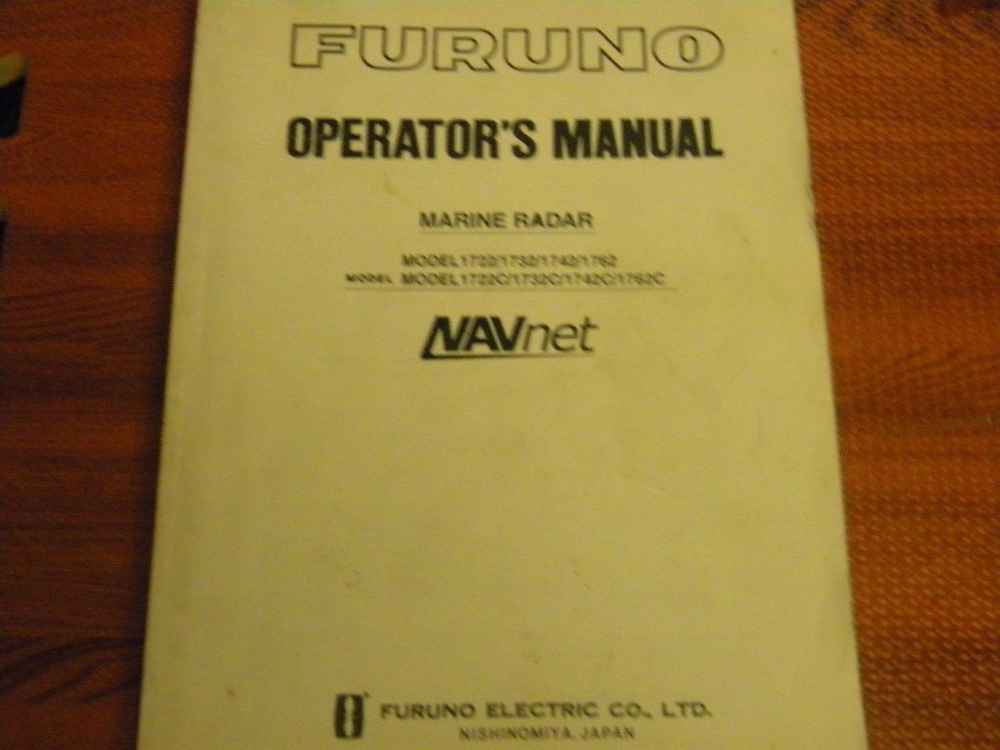 furuno radar operators manual model 1722 1732 1742 1762 1722c 1732c rh maxmarineelectronics com