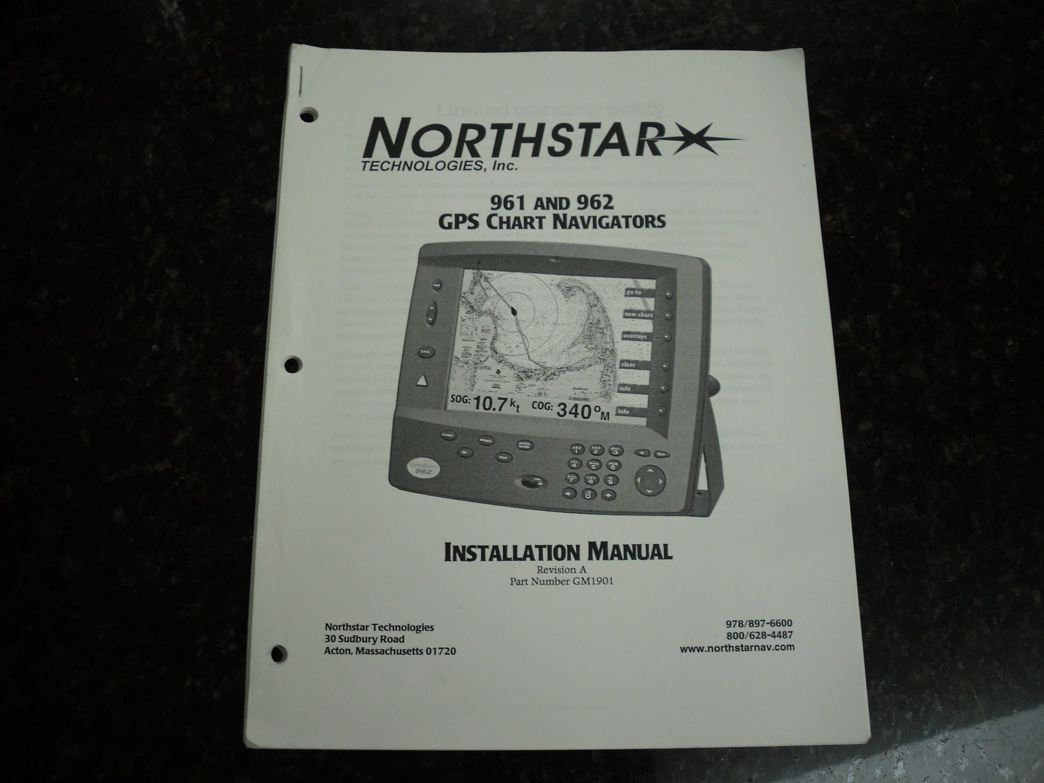 Garmin 196 Gps Wiring Diagram Trusted Diagrams Nmea 0183 Northstar 961 962 Chart Navigators Installation Manual Rev A