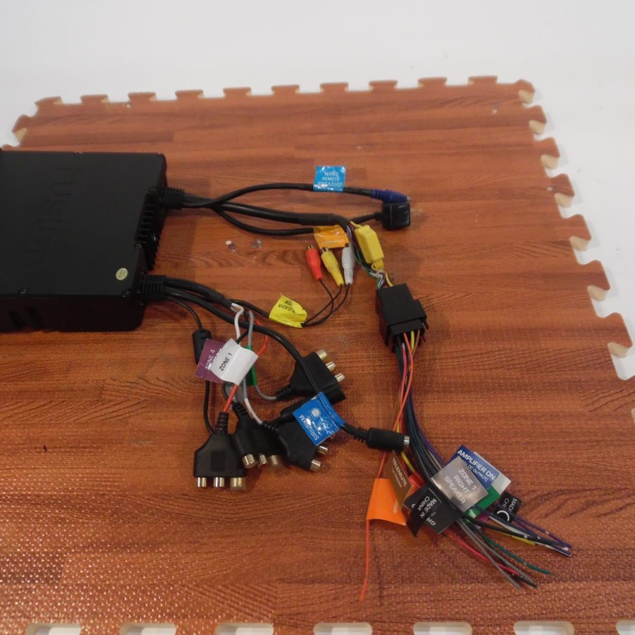 Fusion Ms Ip700 Marine Head Unit W Suncover Excellent Condition Wiring Harness Bench Tested