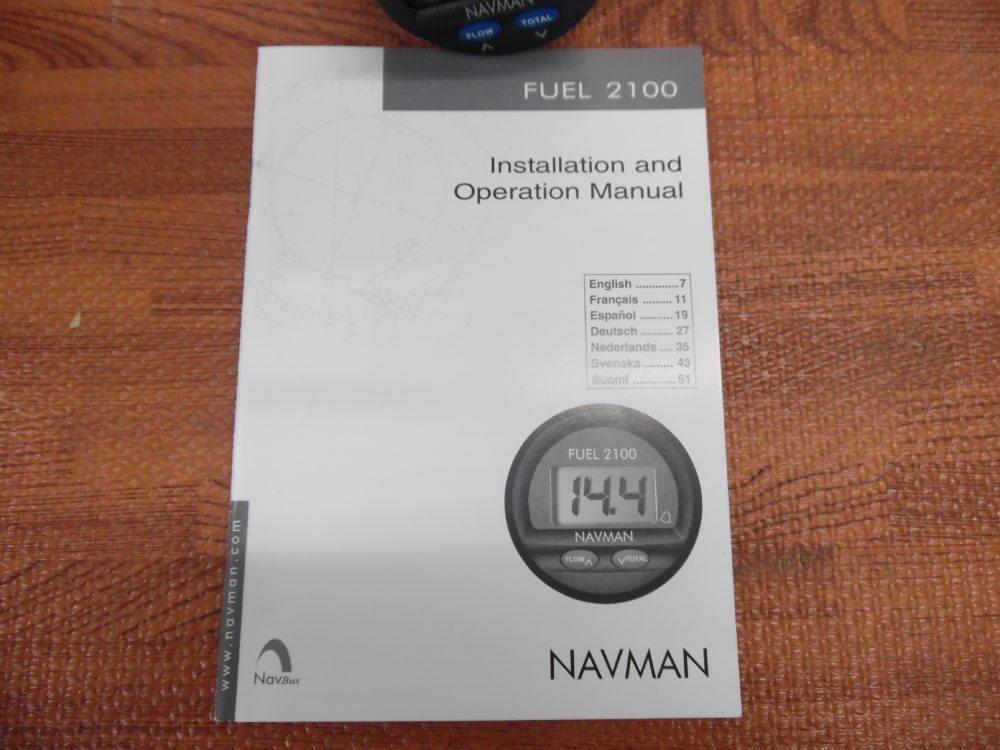navman 2100 fuel flow meter manual