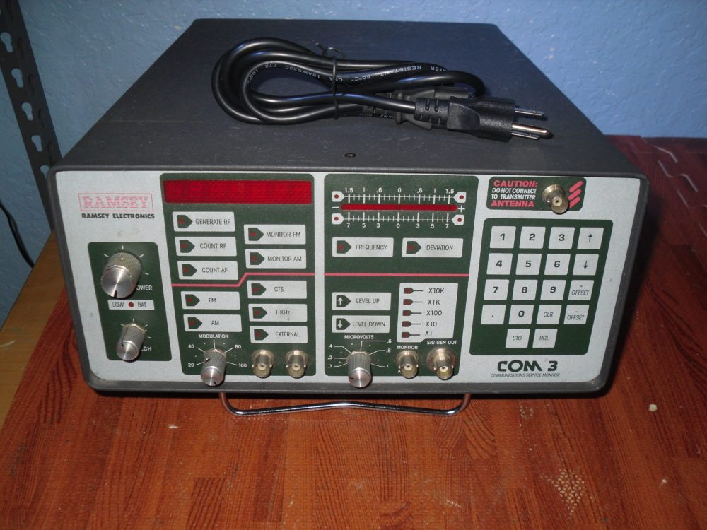 Marine Electronics Repair : Ramsey electronics com service monitor immaculate cond