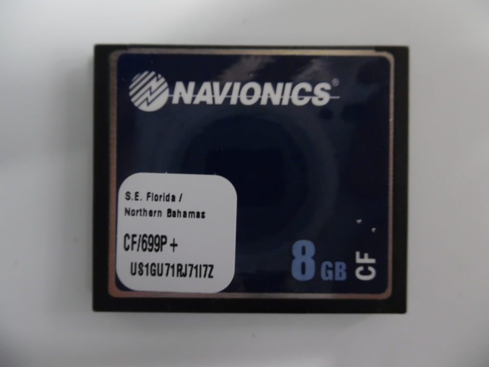 Navionics Platinum Plus Chart Card S E  Florida / Northern Bahamas CF/699P+  8GB