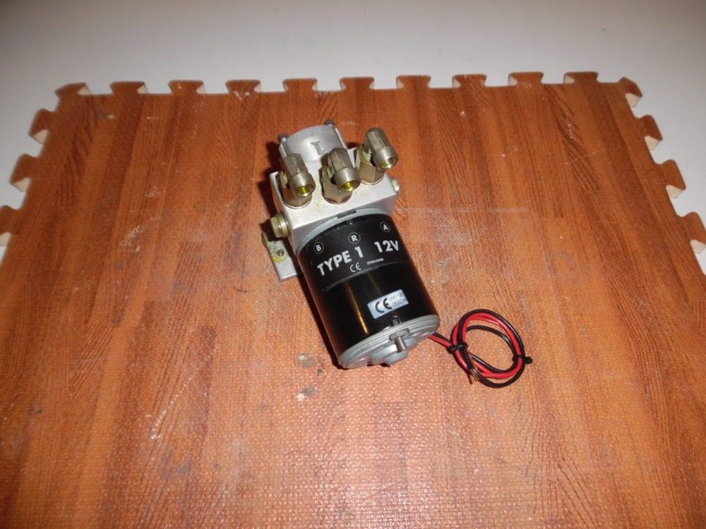 raymarine type 1 12v autopilot pump excel cond  m81120