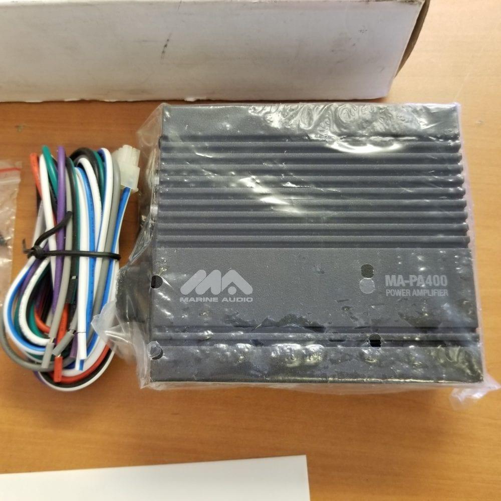 Marine Audio Power Amplifier Wa Pa400 4 Channel 160 Watt New In Wiring Box