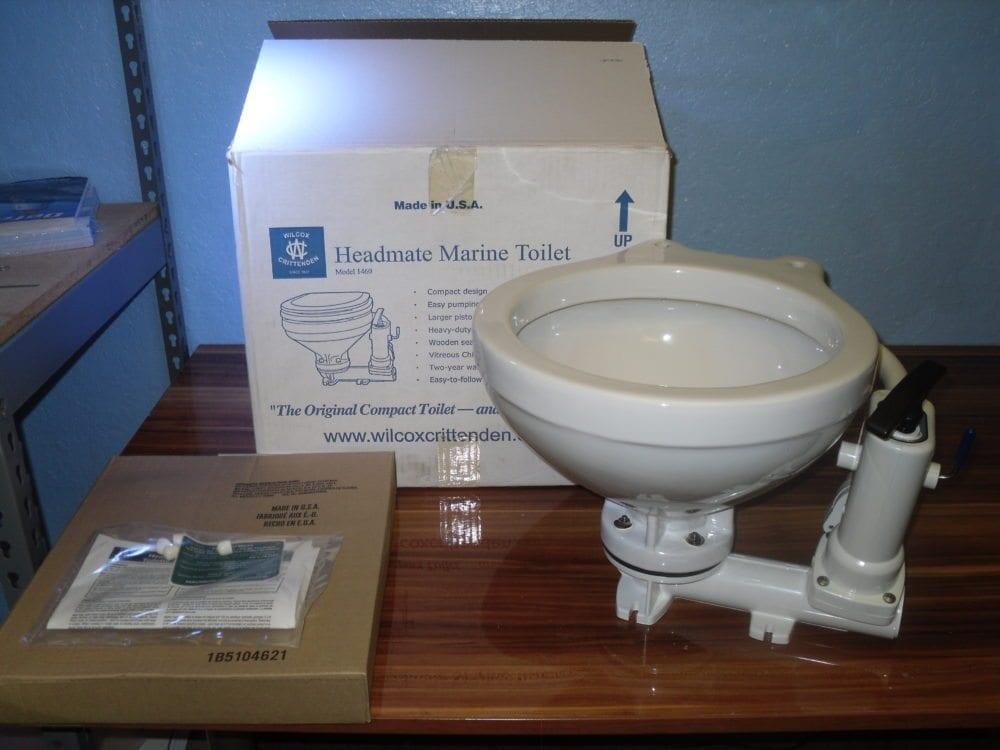 Wilcox Crittenden 1460 Manual Head HeadMate Marine Toilet NEW OLD ...
