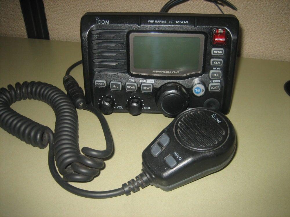 Icom IC-M504 Marine VHF Radio w/ Mic - TESTED - 90 Day Warranty