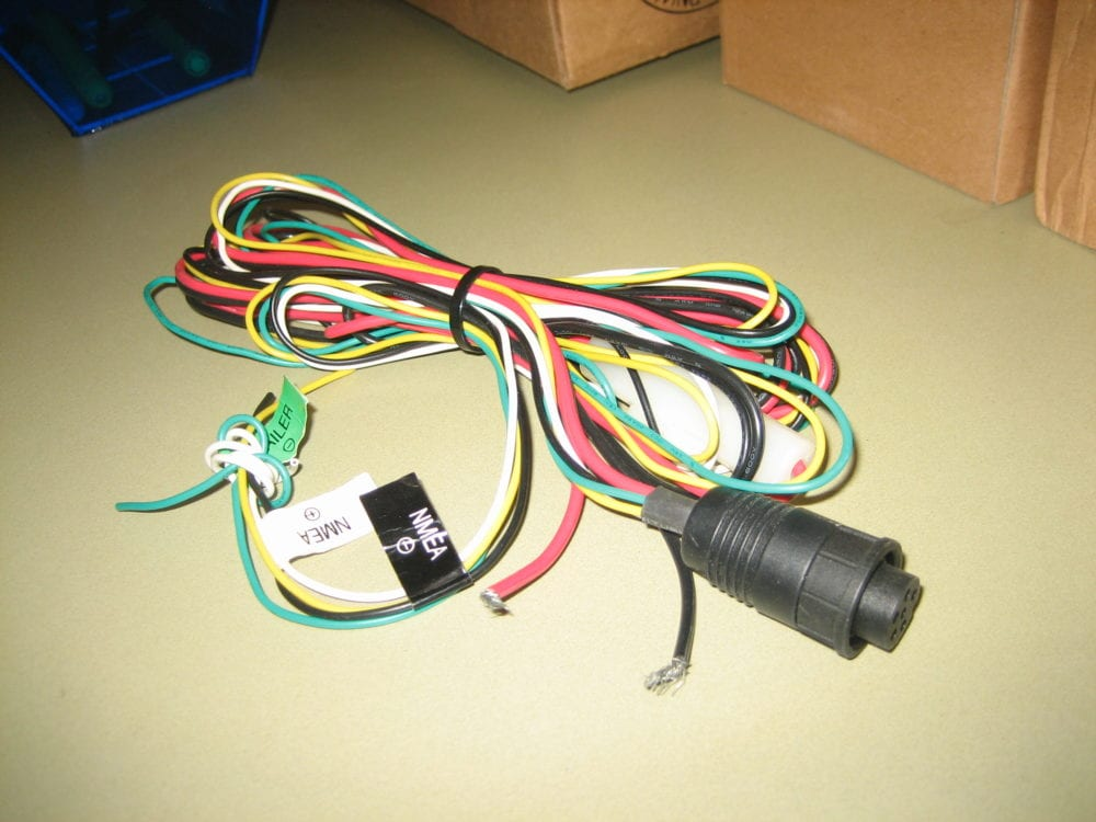 raymarine/raytheon ray230 ray 230 vhf power/data cable ... engine wiring harness headlight wiring harness