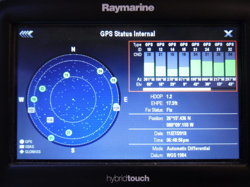 Raymarine e7D eSeries MFD Display w/ Power Cable - Great Used Cond 90 Day  Warr - Max Marine Electronics