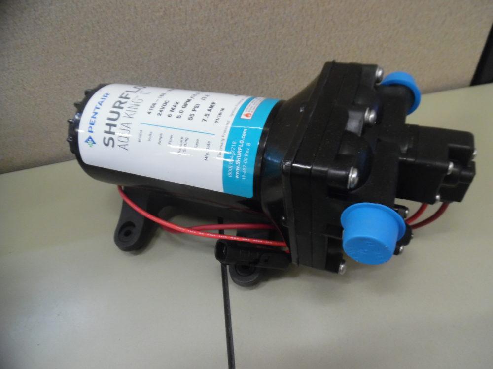 Pentair Shurflo 4158-163-N75 Fresh Water Marine Pump | Aqua King II 24V 5  GPM