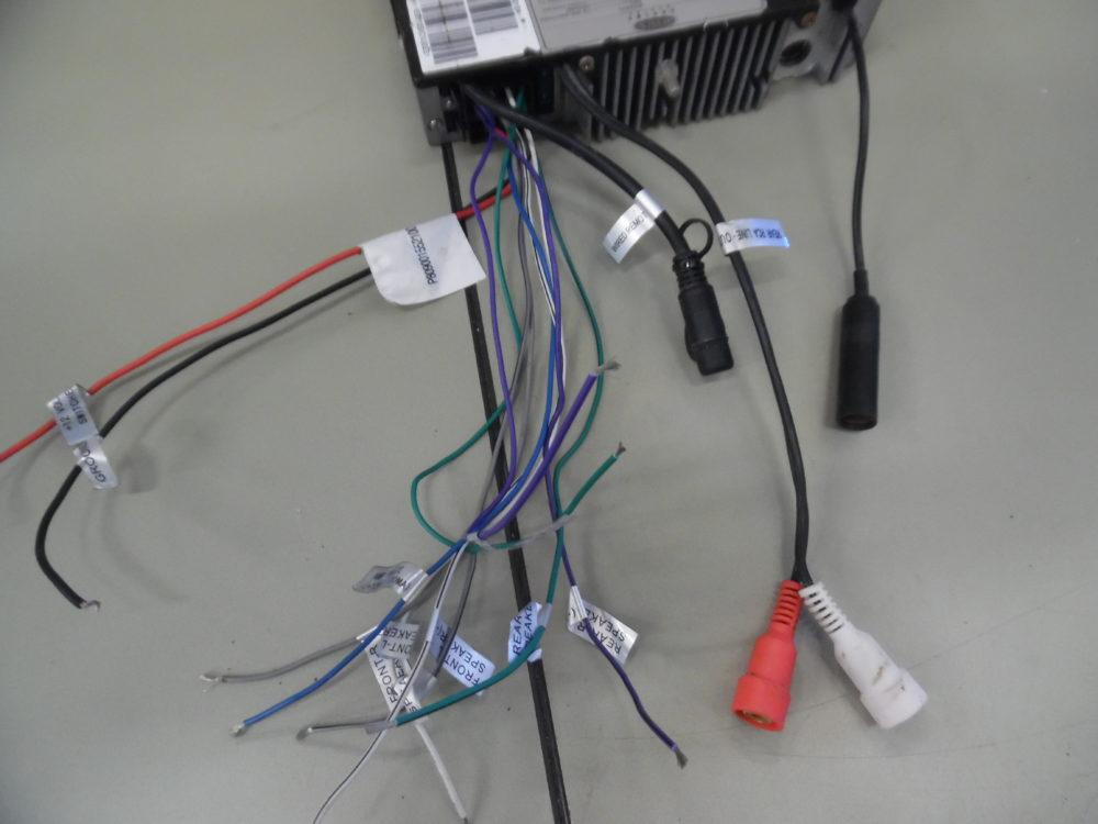 Jensen MSR3012A Marine Stereo Head Unit w/ Wire Harness USB SiriusXM on