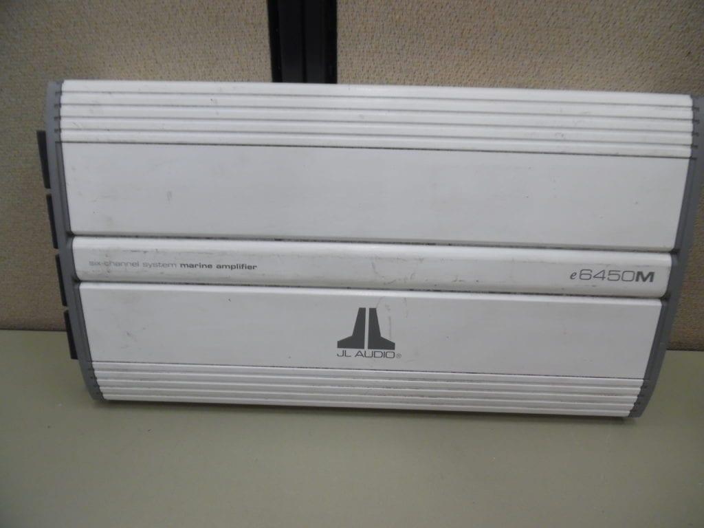 Jl Audio E6450m 12v 6 Channel Marine Amp Amplifier - Free Us Ship
