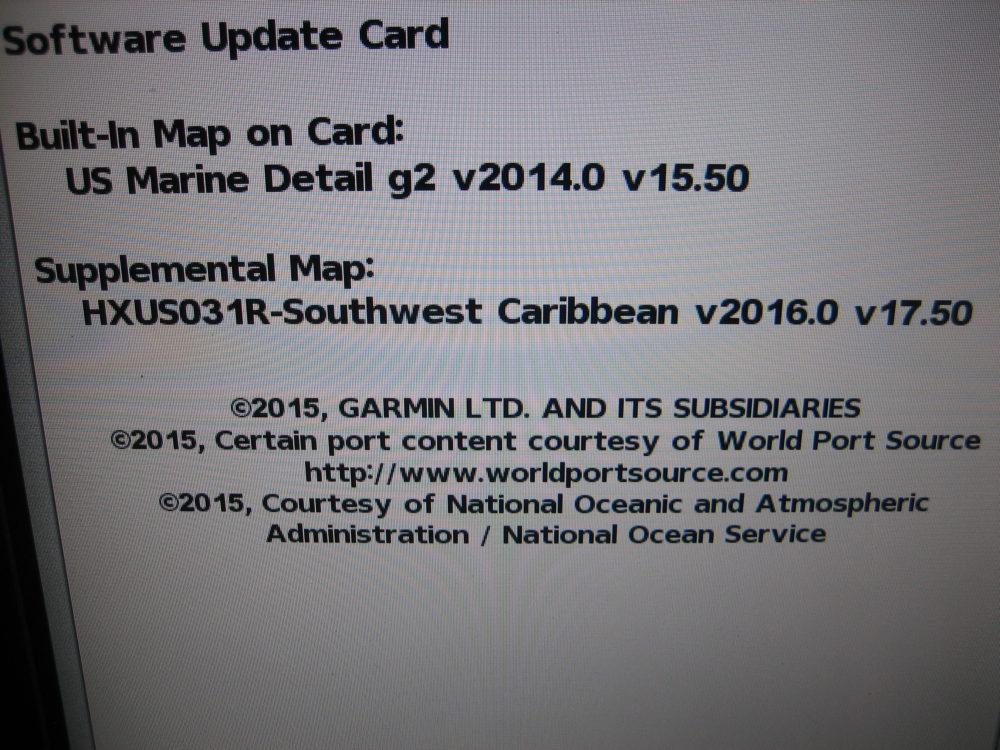 Garmin Bluechart G2 Vision US031R SOUTHWEST CARIBBEAN - Max Marine  Electronics
