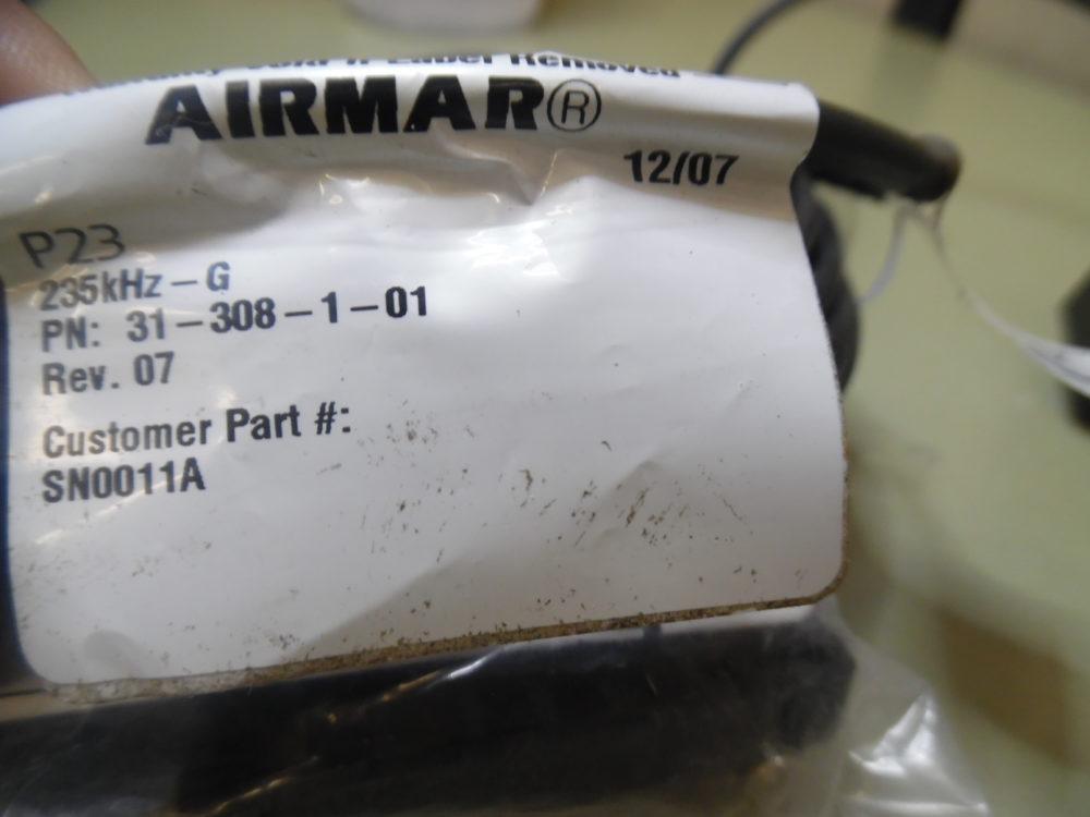 Airmar 31-308-1-01 Transom Mount Depth Transducer w/ Bracket - Max Marine  Electronics
