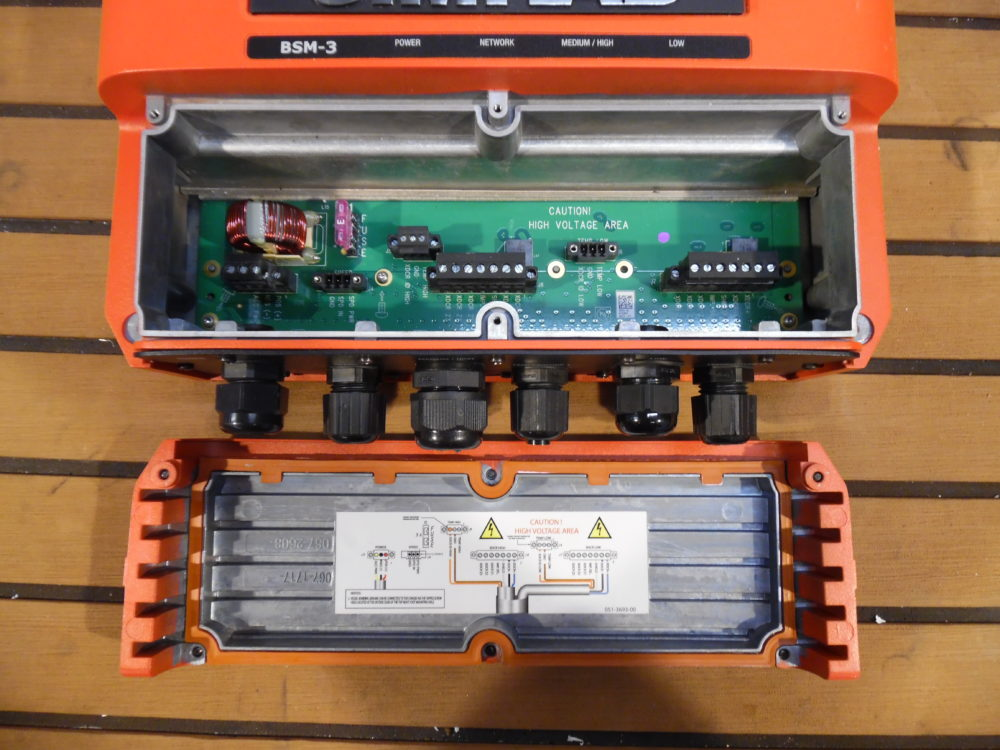 Simrad Bsm-3 Broadband Sounder W   Network Cable