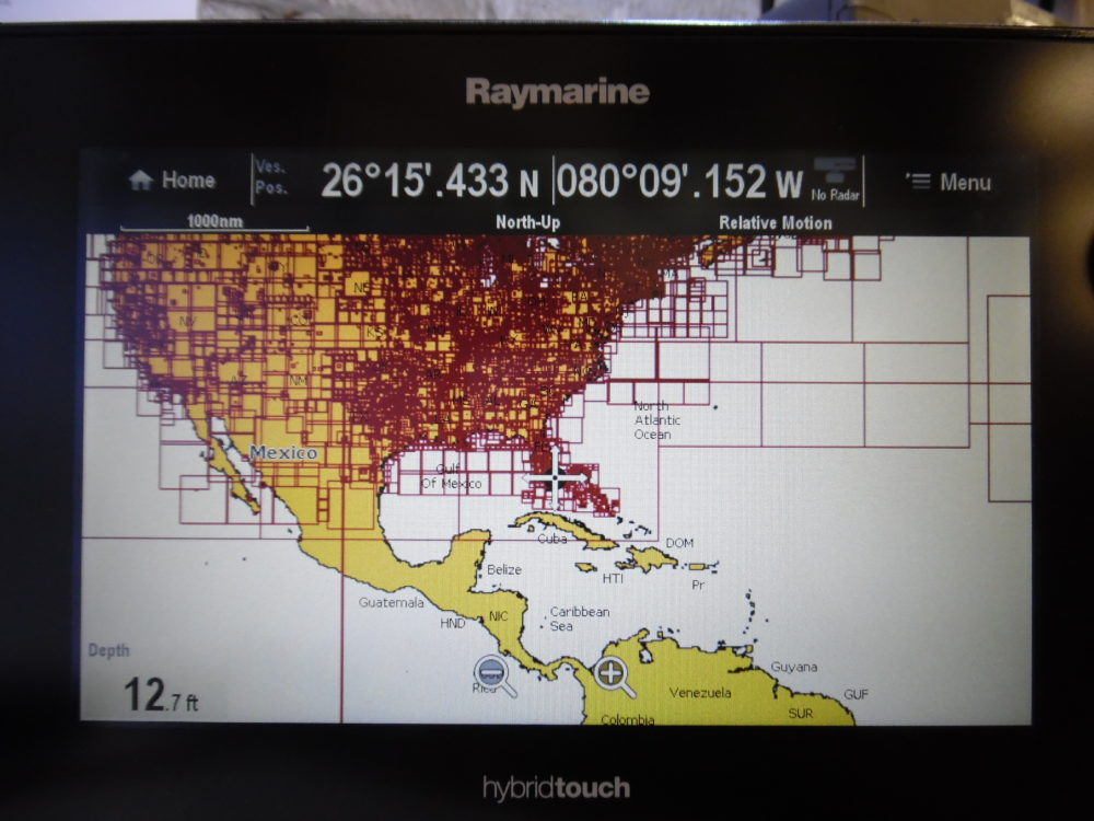 Raymarine eS97 eS Series HybridTouch Lighthouse MFD - Great Cond 90 Day  Warranty