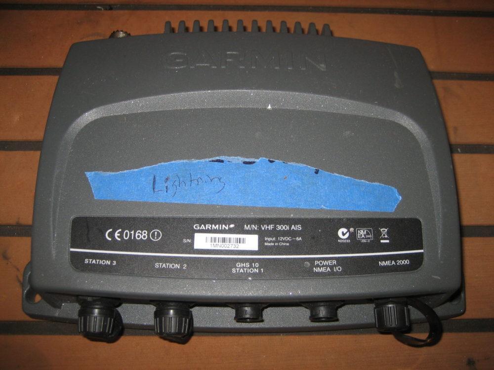 Garmin VHF300i AIS Transceiver - NOT WORKING PARTS ONLY NO RETURNS