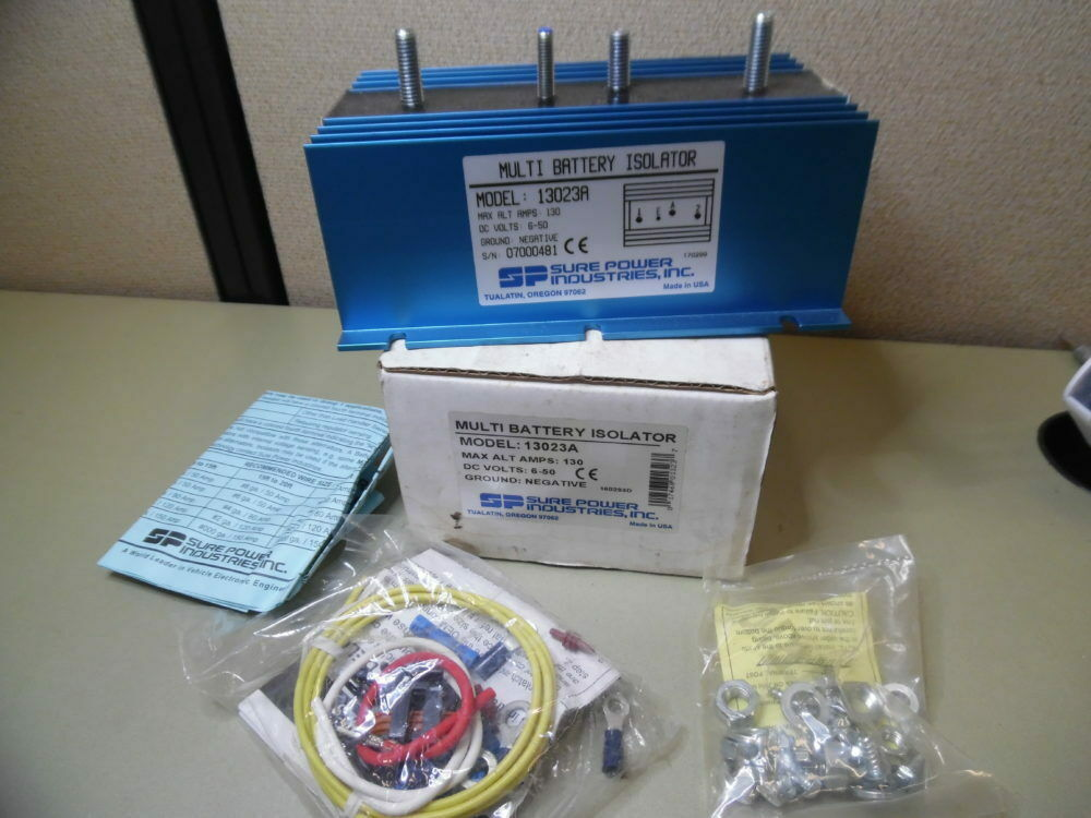 SURE POWER 13023A MULTI BATTERY ISOLATOR 130A - Marine RV EMS