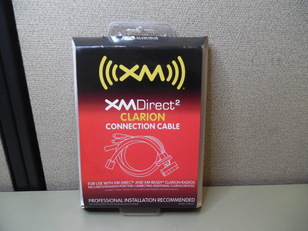 AUDIOVOX CNPCLA1 XMDIRECT2 SONY CONNECTION CABLE for XM READY SONY RADIOS