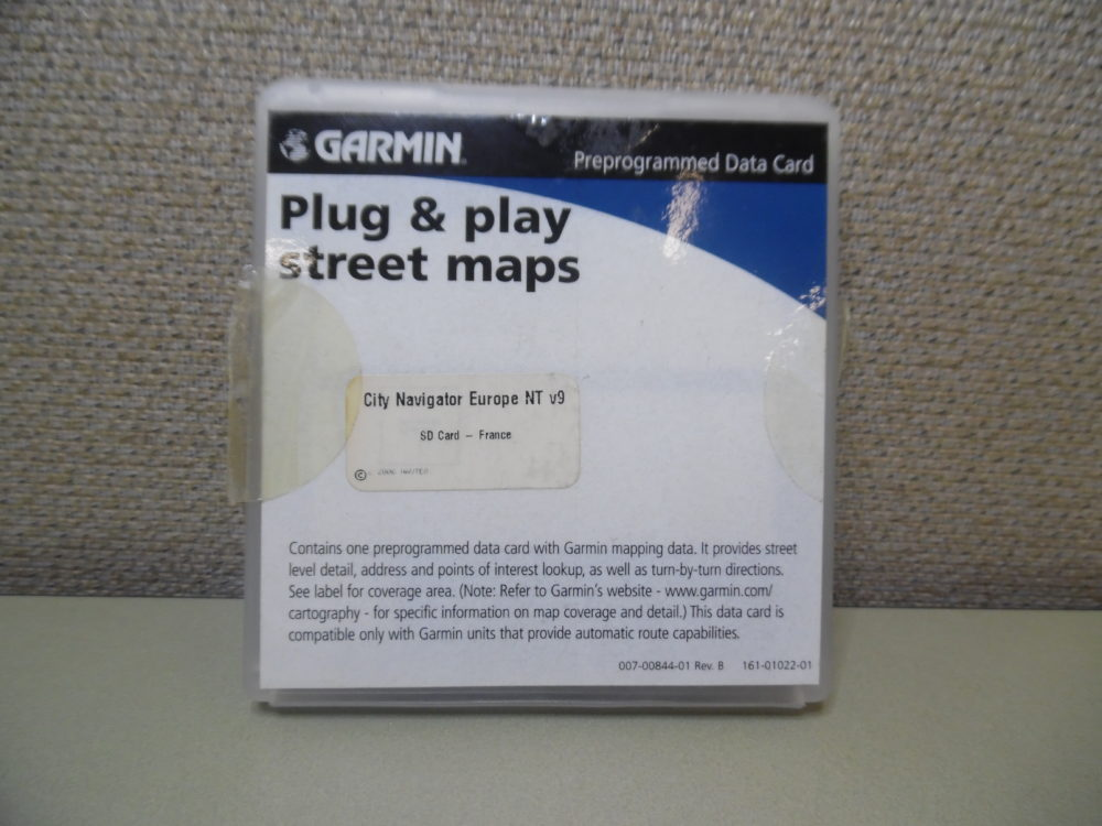Garmin 010-10697-00 Europe NT France Maps City Nav SD Card f/ GPS/Sat