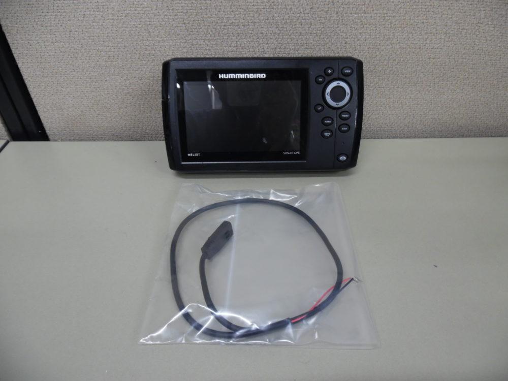 Hummingbird Helix 5 Sonar/Gps Display w/ Power Cable - Good Condition