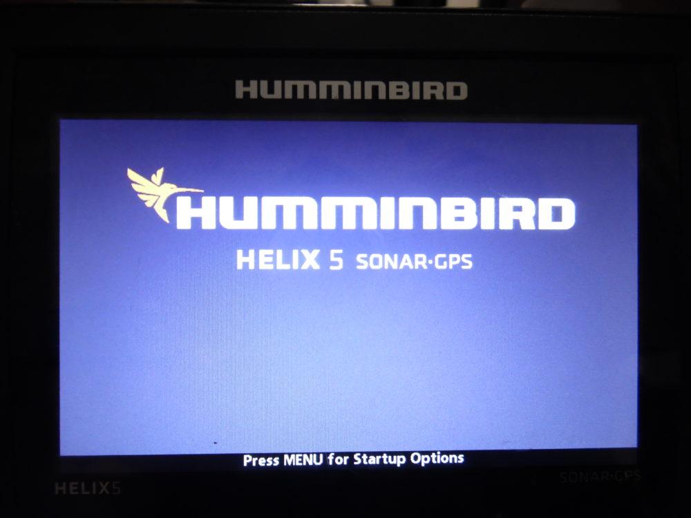 Hummingbird Helix 5 Sonar/Gps Display w/ Power Cable - Good Condition - Max  Marine Electronics