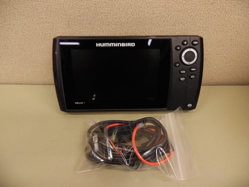 Humminbird Helix 7 DI GPS w/ Power Cable - Tested Working