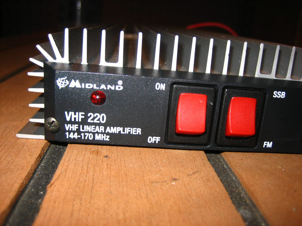 Midland VHF220 VHF Linear Amplifier - 144-170 MHz - Good Condition - Max  Marine Electronics