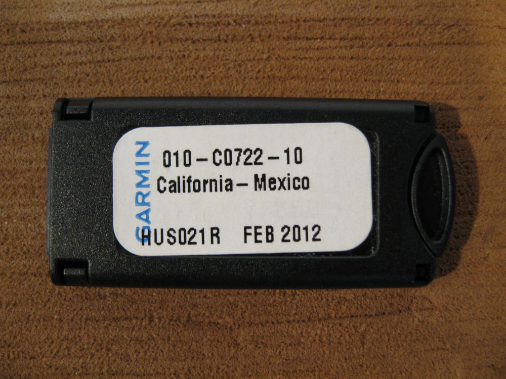 Mexico Data Card California Garmin Bluechart G2 HUS021R
