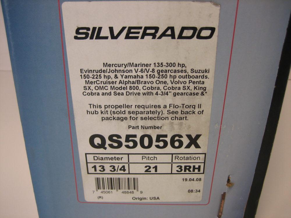 835281Q1 Flo-torq II hub kit for Suzuki 150-300 HP 4-stroke and 150-225 2 stroke