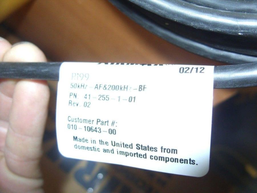 new garmin  airmar 6 pin 2kw r199 in