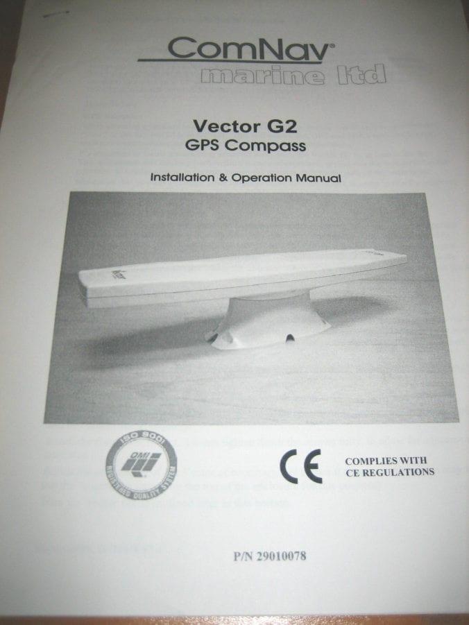 ComNav Marine LTD Vector G2 GPS Compass Installation and Operation Manual