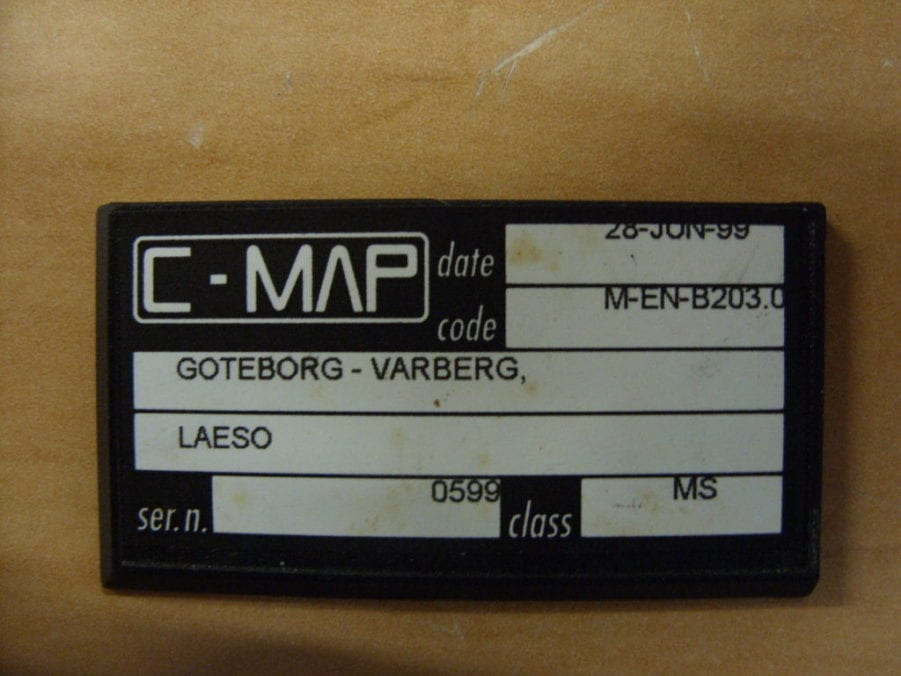 CMap NT Ccard Format MENB Goteborg To Varberg To Laeso - Varberg sweden map