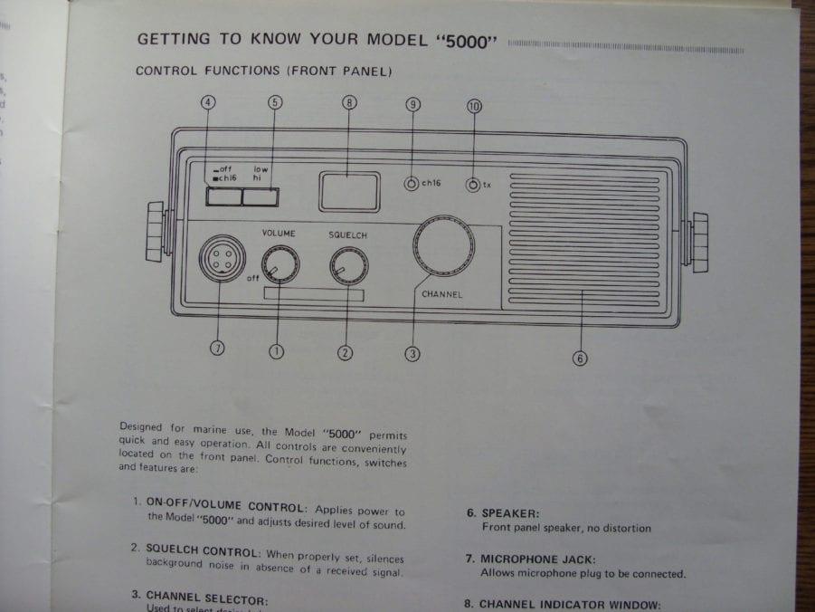 Marine Radio Manual - Wiring Diagram •
